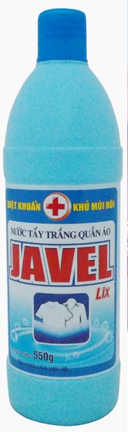 Lix Javel 550gr x 20 Bottle