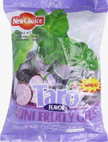 Jelly New Choice Taro Flavour 1kg