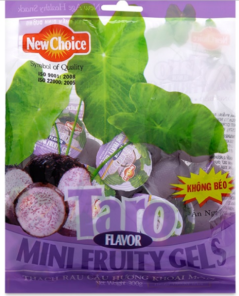 Jelly New Choice Taro Flavour 300gr