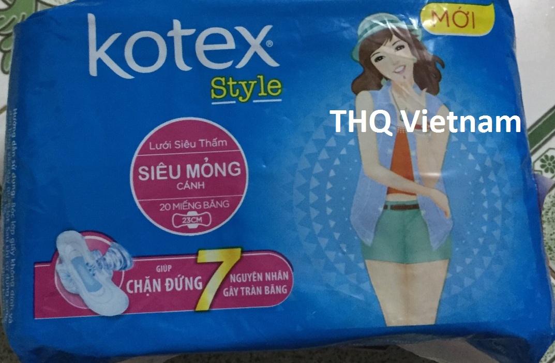 Kotex sanitary napkin 20 pcs 23 cm superthin with wing