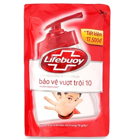Lifebuoy HandWashing Activ Natural Shield  450gr x 24 bags