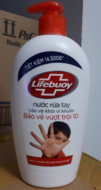 Lifebuoy HandWashing Activ Natural Shield 180gr x 36 btls