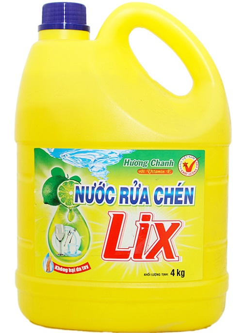 Lix Dish Washing Lemon 4kg