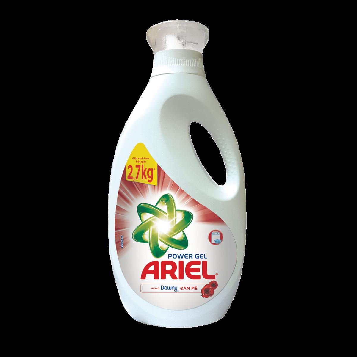 Ariel Concentrate keep colour liquid 2.7L x 4btls