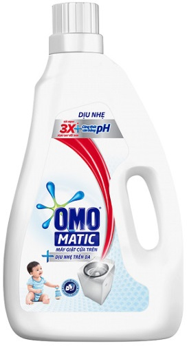 OMO Matic Skin Soft Liquid Detergent 2,4kg - Top Load