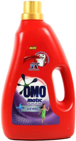 OMO Matic Keep Color Liquid Detergent 2,7kg - Top Load