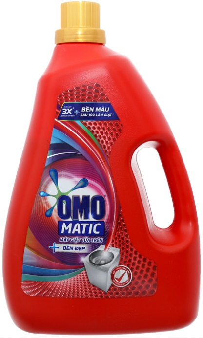 OMO Matic Keep Color Liquid Detergent 3,8kg - Top Load