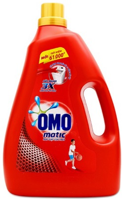 OMO Matic Liquid Detergent 4,2kg - Top Load