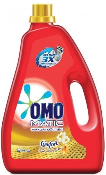 OMO Matic Aromatic Oil Liquid Detergent 2,4kg -Top Load