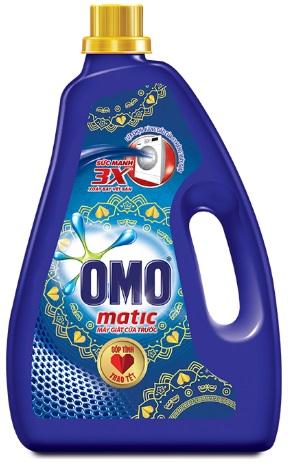 OMO Matic Liquid Detergent 2,7kg - Front Load