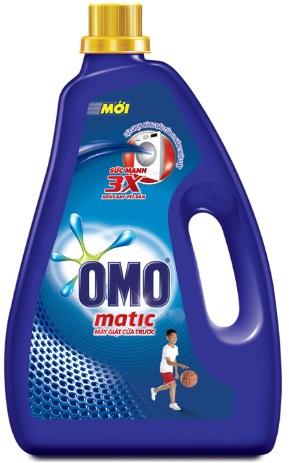 OMO Matic Liquid Detergent 4,2kg - Front Load
