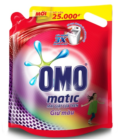OMO Matic Keep Color Liquid Detergent  2,4 kg - Top Load