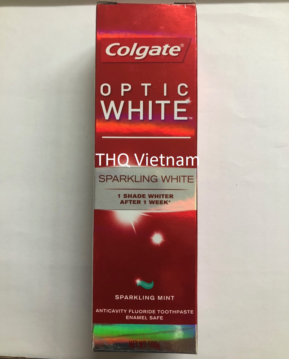 Colgate  Toothpaste Optic White 100gr