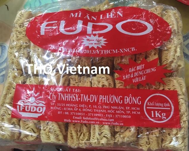 Fudo instant noodle in 1 kg