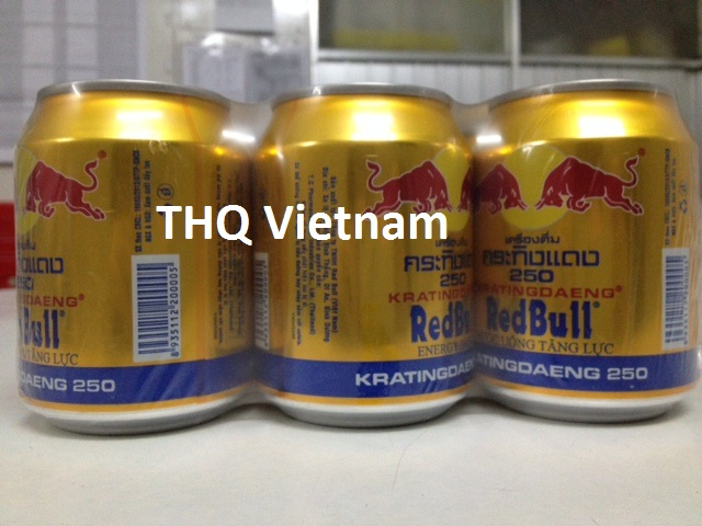 [THQ VIETNAM] Red Bull gold can energy drink 250ml