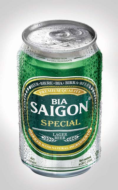 Saigon Special beer in 330ml can