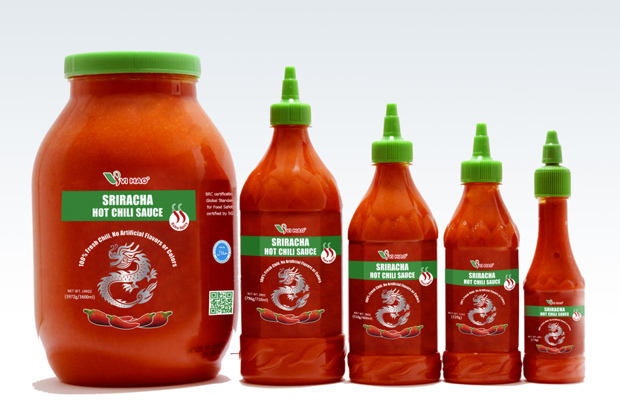 Vi Hao Sriracha chili sauce