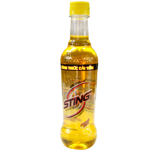 Sting gingseng 330ml in bottle