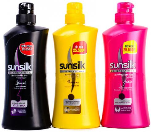 Sunsilk shampoo origin Vietnam