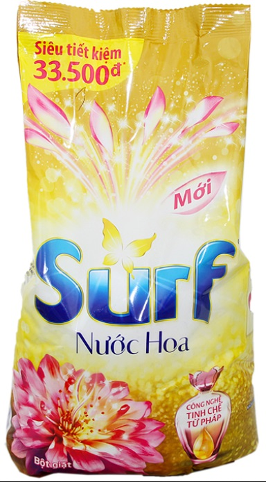 Surf Perfume Graceful Detergent Powder 5,5kg