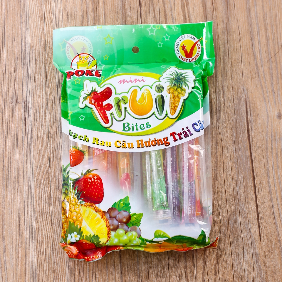 Pencil Jelly Fruit Stick 17gr x 24sticks