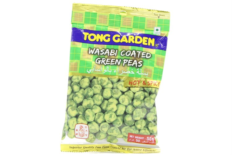 Tong Garden Wasabi Coated Green Peas 50gr