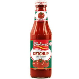 Cholimex tomatoketchup glass btl 270gr