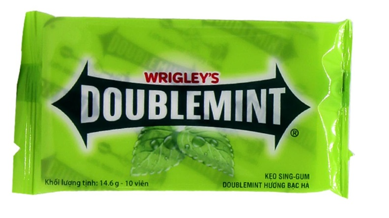 Wrigley's Doublemint Chewing Gum Blister 14.6gr