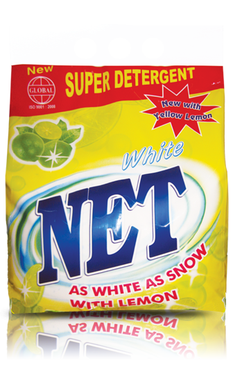 Net wash powder detergent 500gr x 20 packs