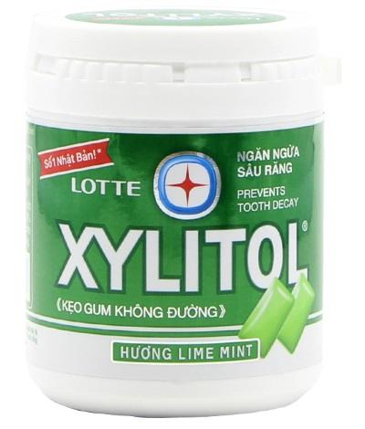 Lotte Gum Xylitol LimeMint FAmily 145gr