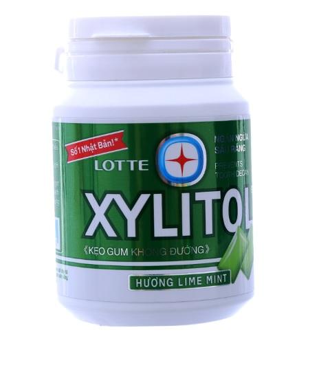 Lotte Gum Xylitol LimeMint Handy 58gr