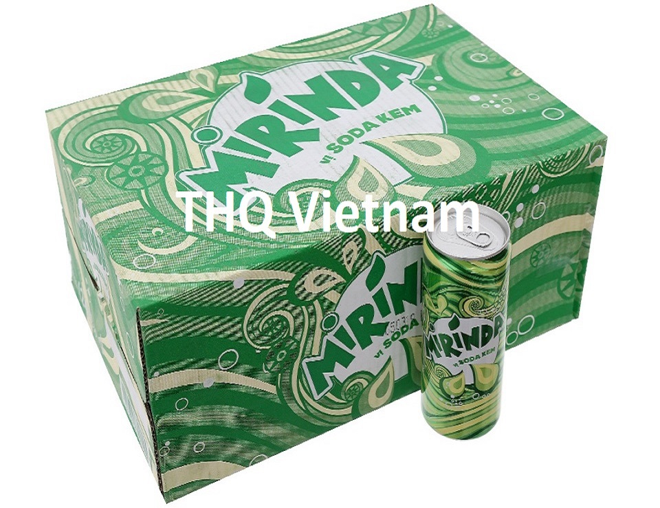 Mirinda soda ice cream 330ml can