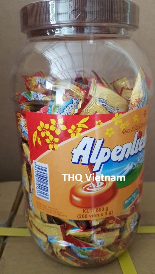 Alpenliebe Caramel milk candy 600GR in Jar