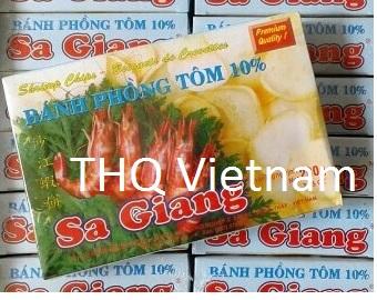 Sagiang Shrim Chips 120gr x 100 bags