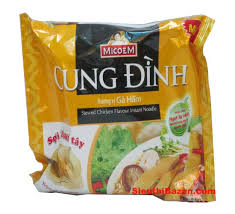 Cung Dinh Instant Noodle(Chicken) 30 packs x 80gr