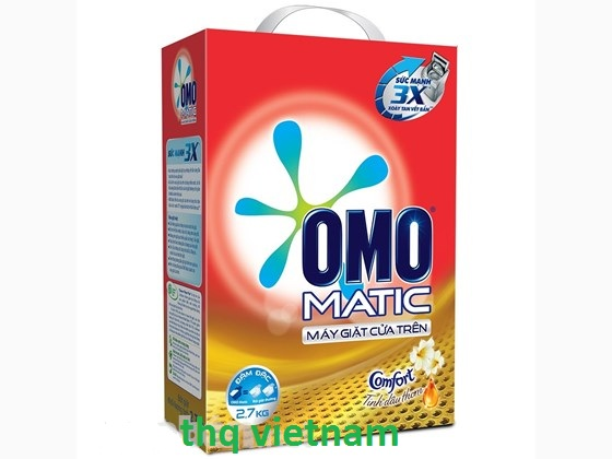 Omo Matic Comfort powder detergent 2.7kg Box