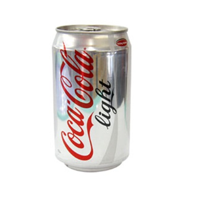Coca Cola Light carbonated drink 330ml Can