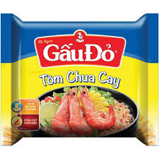 Gau Do Instant Noodle(Hot & Sour Shrimp) 65gr x 30 packs